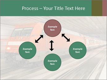 German train PowerPoint Template - Slide 91