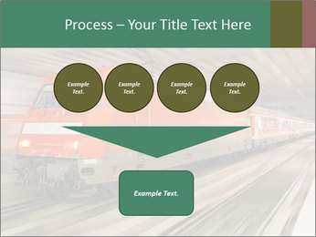 German train PowerPoint Template - Slide 93