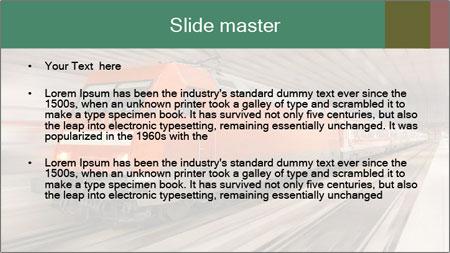 German train PowerPoint Template - Slide 2