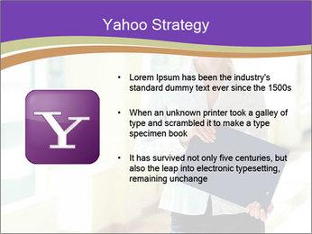 Woman in office PowerPoint Template - Slide 11