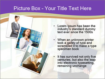 Woman in office PowerPoint Templates - Slide 17