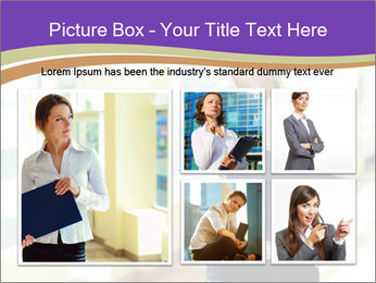 Woman in office PowerPoint Templates - Slide 19