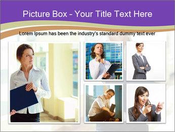 Woman in office PowerPoint Template - Slide 19