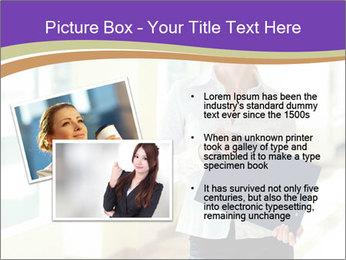 Woman in office PowerPoint Template - Slide 20
