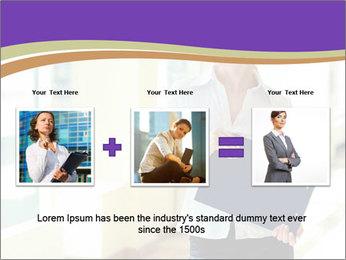 Woman in office PowerPoint Template - Slide 22