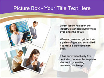 Woman in office PowerPoint Templates - Slide 23