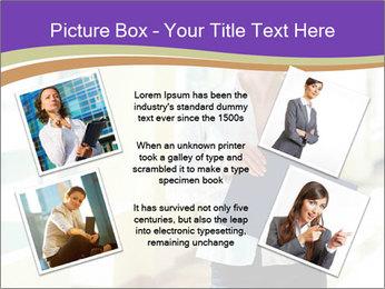 Woman in office PowerPoint Template - Slide 24