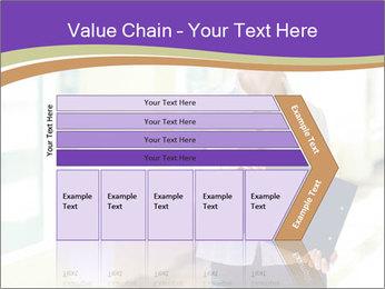 Woman in office PowerPoint Template - Slide 27