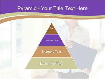 Woman in office PowerPoint Template - Slide 30