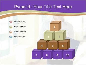 Woman in office PowerPoint Template - Slide 31