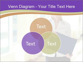 Woman in office PowerPoint Template - Slide 33