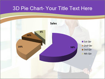 Woman in office PowerPoint Template - Slide 35