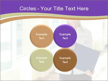 Woman in office PowerPoint Template - Slide 38