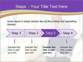 Woman in office PowerPoint Template - Slide 4