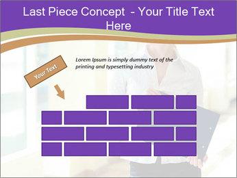 Woman in office PowerPoint Template - Slide 46