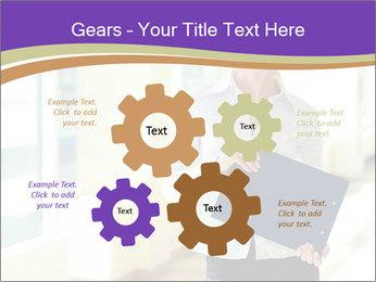 Woman in office PowerPoint Template - Slide 47