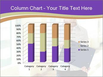 Woman in office PowerPoint Template - Slide 50