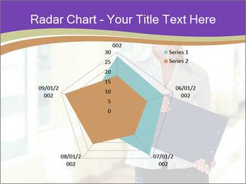 Woman in office PowerPoint Template - Slide 51