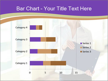 Woman in office PowerPoint Template - Slide 52
