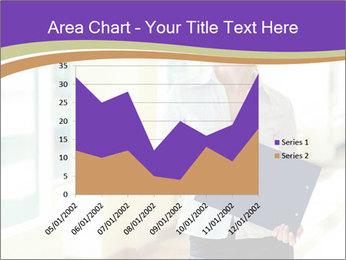 Woman in office PowerPoint Template - Slide 53