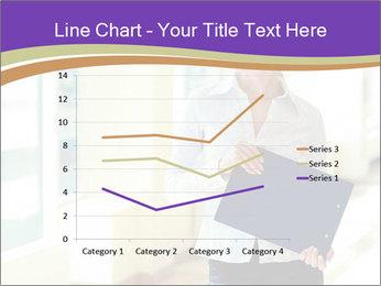 Woman in office PowerPoint Template - Slide 54