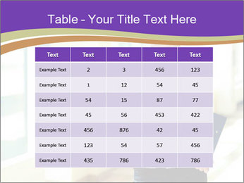 Woman in office PowerPoint Template - Slide 55