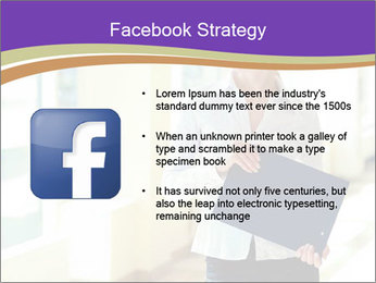 Woman in office PowerPoint Template - Slide 6