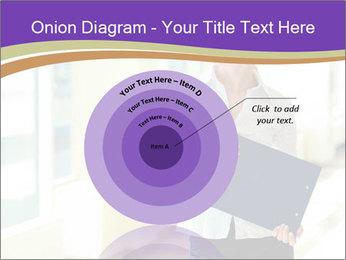 Woman in office PowerPoint Template - Slide 61