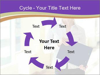 Woman in office PowerPoint Template - Slide 62