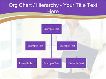 Woman in office PowerPoint Template - Slide 66