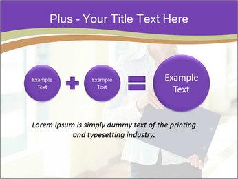 Woman in office PowerPoint Template - Slide 75