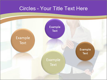 Woman in office PowerPoint Template - Slide 77