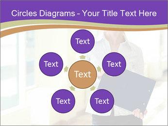 Woman in office PowerPoint Template - Slide 78