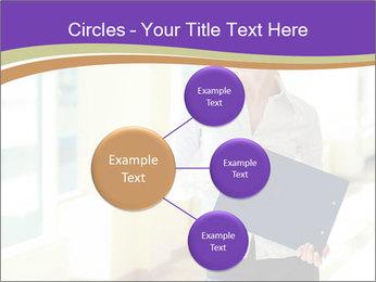Woman in office PowerPoint Template - Slide 79