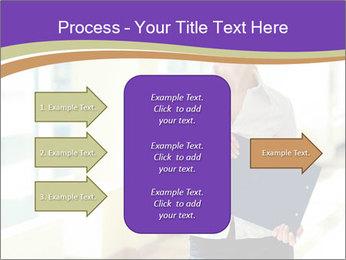 Woman in office PowerPoint Template - Slide 85