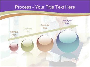 Woman in office PowerPoint Template - Slide 87