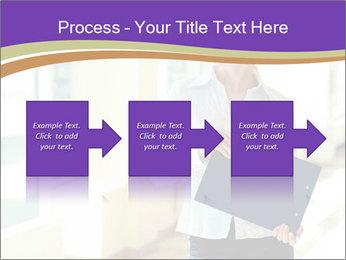Woman in office PowerPoint Template - Slide 88