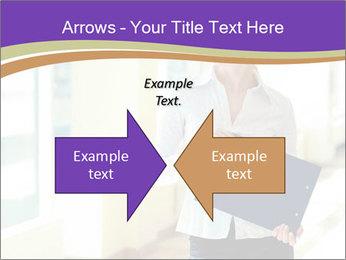 Woman in office PowerPoint Template - Slide 90
