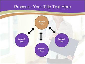 Woman in office PowerPoint Template - Slide 91