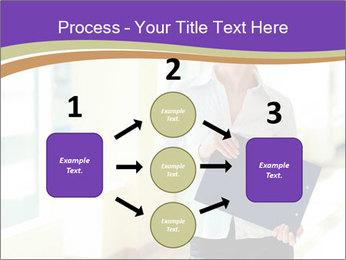 Woman in office PowerPoint Template - Slide 92