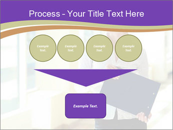 Woman in office PowerPoint Template - Slide 93