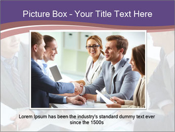 Two employees listening PowerPoint Template - Slide 15