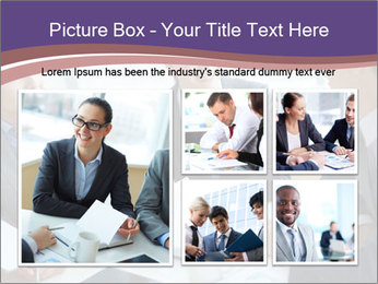 Two employees listening PowerPoint Template - Slide 19