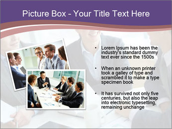 Two employees listening PowerPoint Template - Slide 20