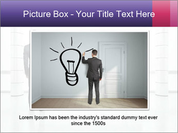 Man drawing PowerPoint Templates - Slide 16