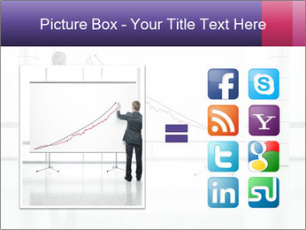 Man drawing PowerPoint Templates - Slide 21