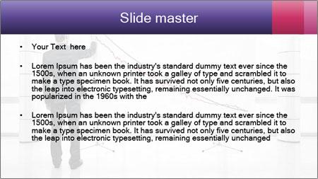Man drawing PowerPoint Template - Slide 2
