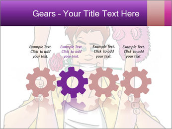 Girl with legs up PowerPoint Templates - Slide 48