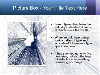 Abstract modern building PowerPoint Template - Slide 13