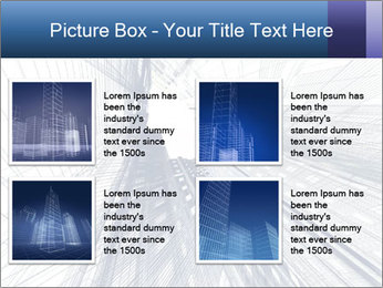 Abstract modern building PowerPoint Template - Slide 14